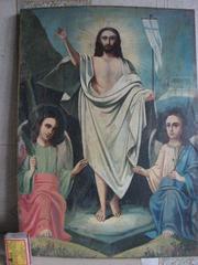 Продам  икону старинную Вознесенье Господне 19 века написанную темперной краской.